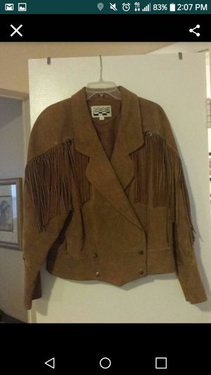 Beautiful Tan suede jacket! for Sale in Orlando, FL