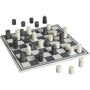 CB2 Marble Chess Set for Sale in Irvine, CA