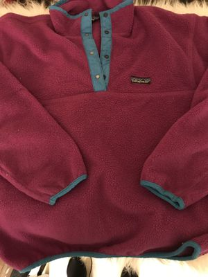 Patagonia women's fleece pullover for Sale in North Little Rock, AR