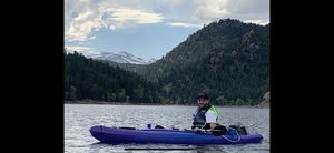 Explorer 10.4. Future Beach Kayak, Paddle, Life Jacket for Sale in Golden, CO