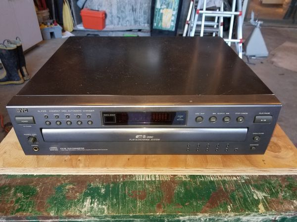 JVC XL-F215 5 disc Cd player.