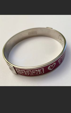 Coach bangle for Sale in Silver Spring, MD