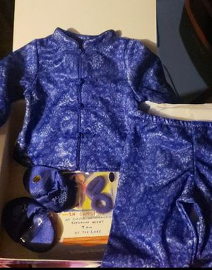 American girl doll /JLY sleepover satin PJs for Sale in Reading, PA