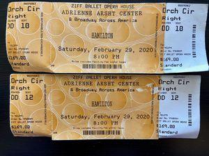 Hamilton tickets for Sale in North Lauderdale, FL