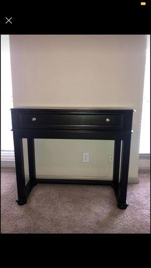 Tall Black desk/table for Sale in Atlanta, GA