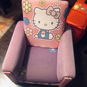 Hello Kitty Chair /Good Condition /Normal Wear for Sale in Chino, CA