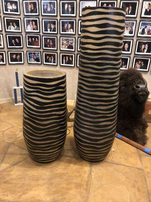 Zebra floor lamps for Sale in Los Angeles, CA