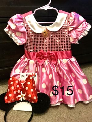 3t Minnie Mouse costume for Sale in Corona, CA
