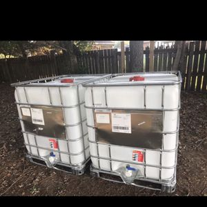 Water tanks - IBC 250 Gallon for Sale in Chesapeake, VA
