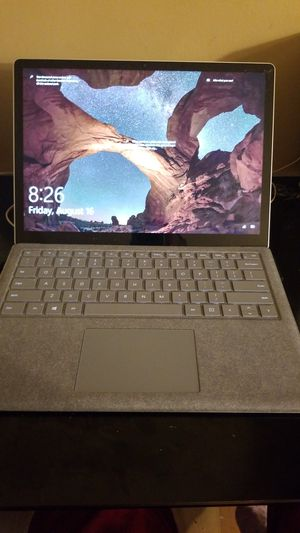 Microsoft surface 1769 13.5 i5 7200u 5ghz 8gd ram 256gd ssd win10 for Sale in Apple Valley, MN