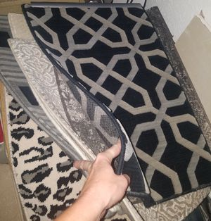 New wool rugs / unique colors and patterns for Sale in Wichita, KS