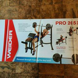 New 80lb Weight Set & Bench Press for Sale in Tacoma,  WA