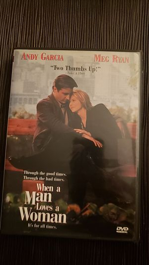 Dvd When a Man Lives a Woman for Sale in Downers Grove, IL