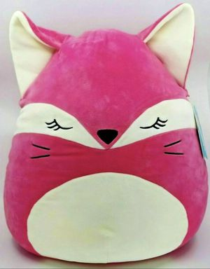 "Squishmallow 16"" Fern The Fox, Stuffed Animal, Super Plush Pillow Kellytoy 2020 for Sale in Los Angeles, CA"