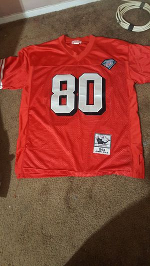 Size 50 rice jersey for Sale in Fort Worth, TX