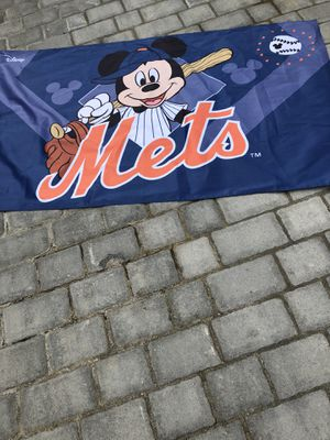 New York Mets Official Disney Mickey Mouse flag for Sale in Suffolk, VA