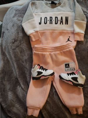 JORDAN OUTFIT SIZE 12MNTSAND SHOES $70 for Sale in Fresno, CA