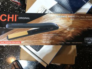 """CHI Original 1"""" Flat Hair Straightening Ceramic Hairstyling Iron 1 Inch Plates- Brand New for Sale in Frisco, TX"""
