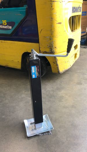 "7000lbs topwind trailer jack extend height 15"" brand new for Sale in La Puente, CA"