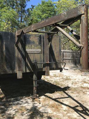 Vintage gooseneck & flatbed trailer (Solid Steel) for Sale in Camden, SC