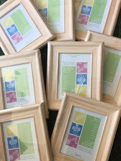New Wood Picture Frames (5x7in) Lote Of 8 for Sale in Portland,  OR