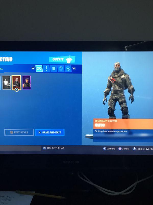 Fortnite rare account