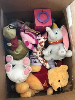 Stuffed animals and other toys for Sale in Petersburg, VA