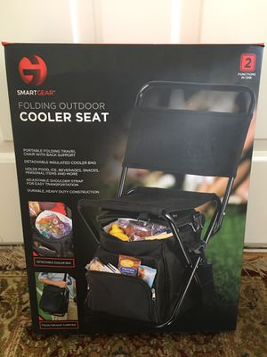 Outdoor Folding Chair with Cooler for Sale in Chantilly, VA