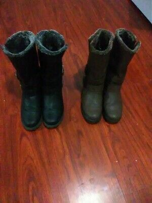RUGGED OUTBACK Women's size 9 fall /winter boots. Black and brown (2 pair) for Sale for sale  Newark, NJ