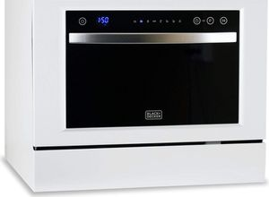 BLACK+DECKER BCD6W Compact Countertop Dishwasher, 6 Place Settings, White for Sale in Honolulu, HI