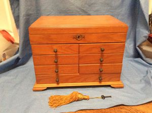 Wood jewelry box for Sale in San Diego, CA