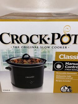 Brand new in the box 4 quart crock pot slow cooker for Sale in Dinuba,  CA