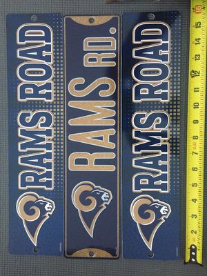 Rams signs new for Sale in Wildomar, CA