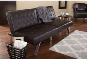 Modern Leather Futon for Sale in Biloxi, MS