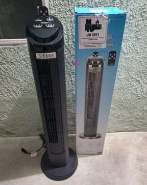 Sierra 40-inch Tower Fan with Remote Control for Sale in Los Angeles, CA