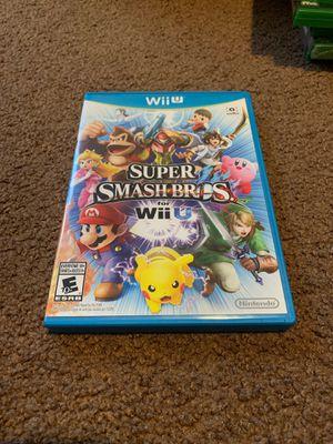 Super Smash Bro's WiiU for Sale in Los Angeles, CA