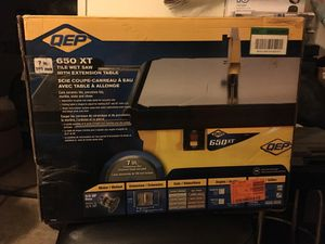 QEP 7 Inch Tile Wet Saw With Extension Table for Sale in La Vergne, TN