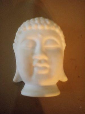 White Ceramic Buddha Head for Sale in Baytown, TX