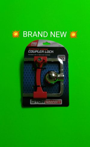 NEW TRAILER COUPLER LOCK WITH KEYS. for Sale in Albuquerque, NM