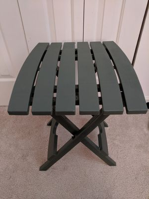 Folding plastic camping table for Sale in Raleigh, NC