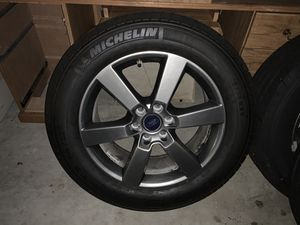 20 inch F -150 factory rims and tires tires are brand new for Sale in West Palm Beach, FL