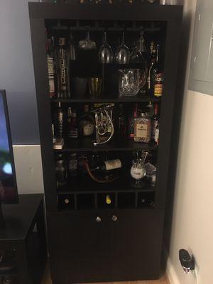 Home bar/liquor cabinet for Sale in Washington, DC