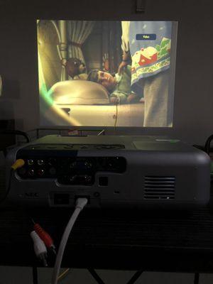 Nec projector for Sale in Ontario, CA