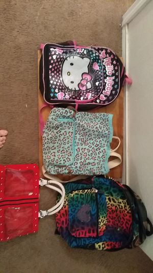 Girls backpacks and purse. for Sale in Kerrville, TX