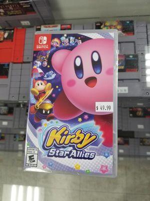 Kirby Star Allirs Nintendo Switch $50 BRAND NEW for Sale in Tempe, AZ