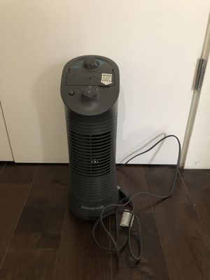 Honeywell mini tower fan for Sale in Bronx, NY