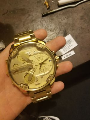 Gold diesel watch brand new!! for Sale in Denver, CO