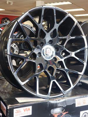 "22"" 22x9.5 +30 6×139.7 Wheels Rims Black TIRE'S Available Chevy Tahoe Suburban LTZ Tahoe 1500 GMC Yukon Sierra Denali 2wd 4x4 for Sale in Bellflower, CA"