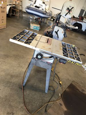 Craftsman contractor series table saw 44 inch top for Sale in Upland, CA