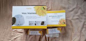 Gigi wax warmer and all purpose honee system, extra muslin for Sale in Kealakekua, HI